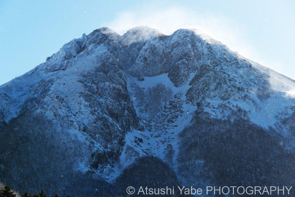 雄大な雪山