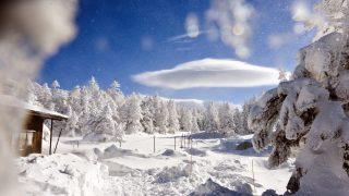天狗岳(西峰)の雪景色