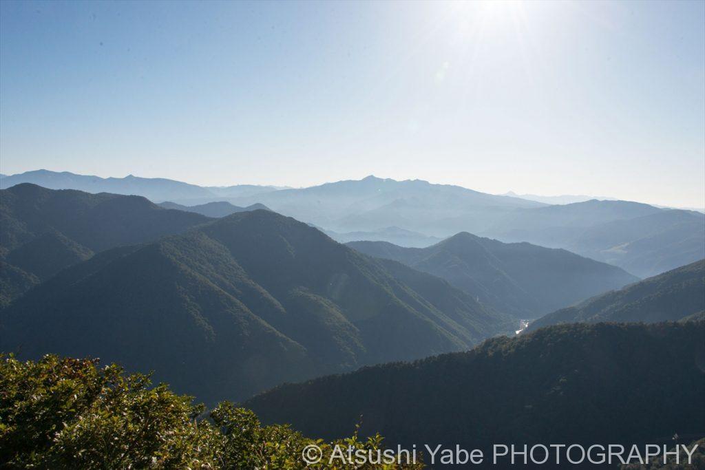 谷川岳の山々