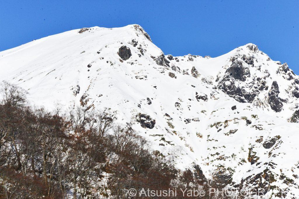 初冬の谷川岳