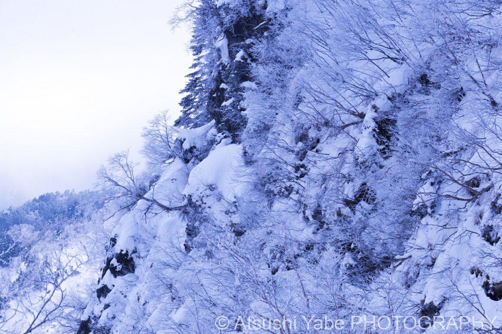 真冬の天狗岳登山 どこまでも広がる雪景色