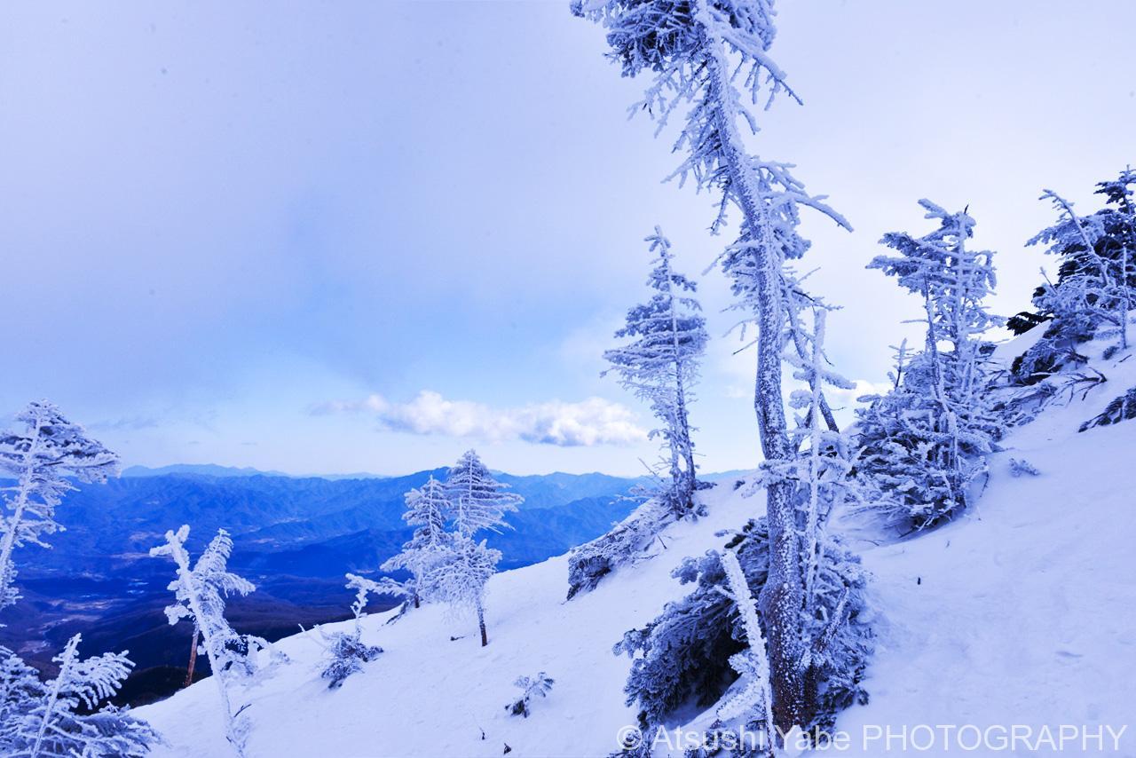 真冬の天狗岳