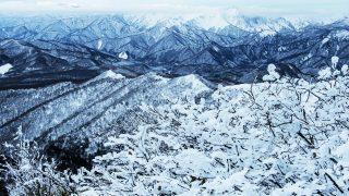武尊山の雪景色